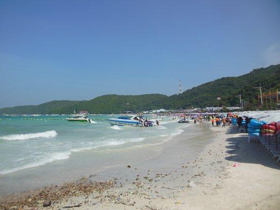 Ko Lan, Tailandia:  Ко-лан пляж