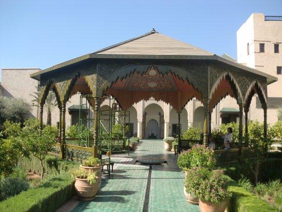 Kiosque foto van le jardin secret marrakesh tripadvisor for Villas de jardin seychelles tripadvisor