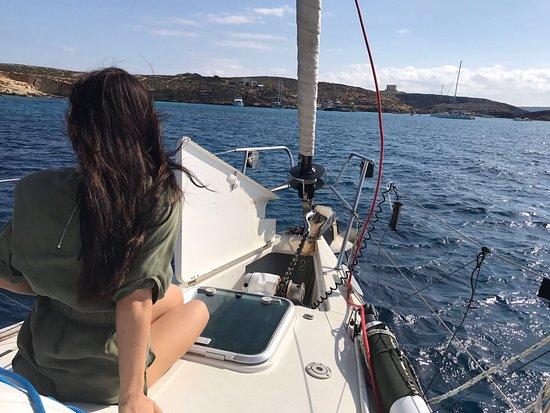 Ta' Xbiex, Malta: Heading to the Blue lagoon