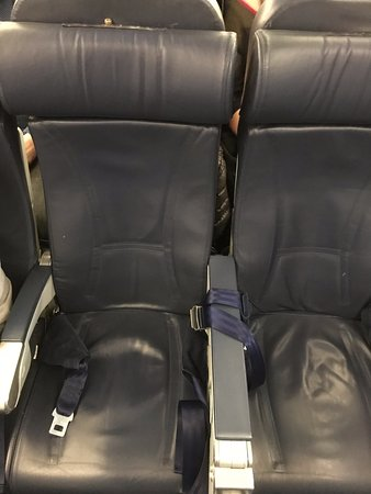 Dirty Small Seats For Transatlantic - Picture of Norwegian, World ...