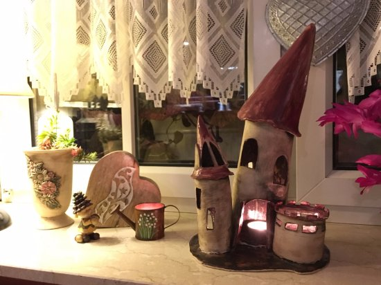 Lubben, Germany: I loved the little decorations around the whole place, it gave it more character and felt homely