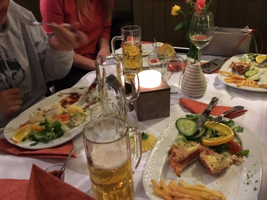 Lubben, Germany: Great meal! Great beer!