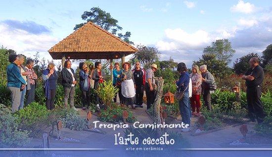 Vila Flores, RS: Terapia Caminhante