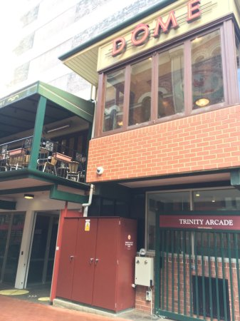 Dome cafe perth st george 39 s tce restaurant reviews for 256 st georges terrace