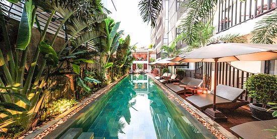 Salt water swimming pool picture of sumeru boutique - Hotels with saltwater swimming pools ...