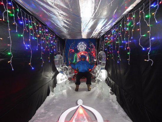 Tomtor, Russia: ice throne