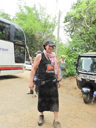 Dambulla, Sri Lanka: geen goede kleding dan krijg je dit