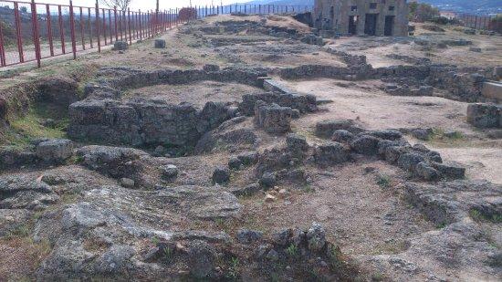 Belmonte, Portugal: vestígios da escavação