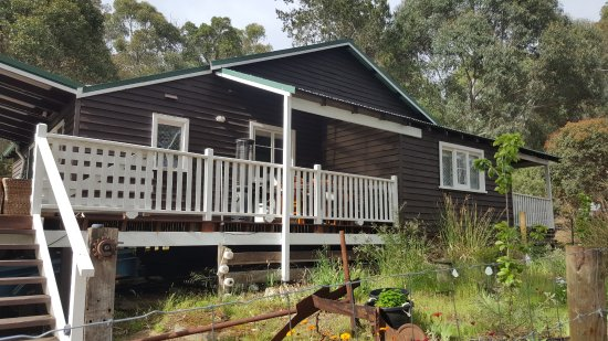 Nyamup, Australia: Back of our cottage