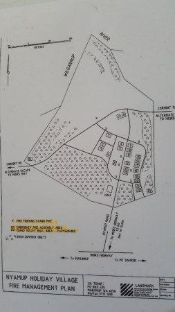 Nyamup, Australia: Map