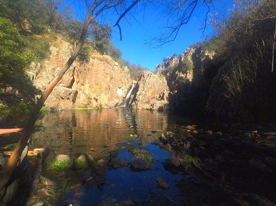 San Agustin de Guadalix, Spain: Cascada del Hervidero. Octubre 2017