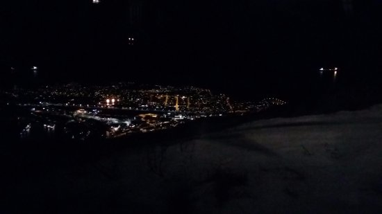 Narvik, Norge: view from the lodge (outside)