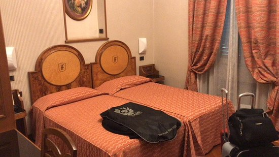 Hotel Farnese: Una camera