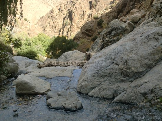 Marrakech-Tensift-El Haouz Region, โมร็อกโก: lit de la rivière