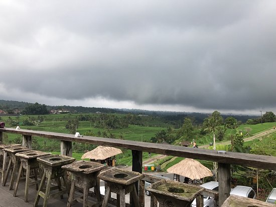 One of our best lunch in Bali with an amazing view