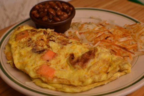 Dartmouth, MA: Sweet Potato Omelet