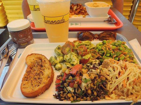 Lemonade: Plat végétarien