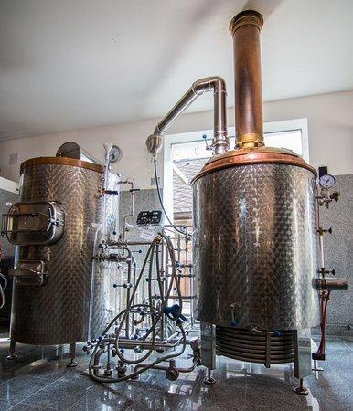 Eisenerz, Österreich: Unser Sudhaus, wo unsere Biere geboren werden