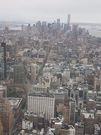 vista desde el piso 86 bild von empire state building