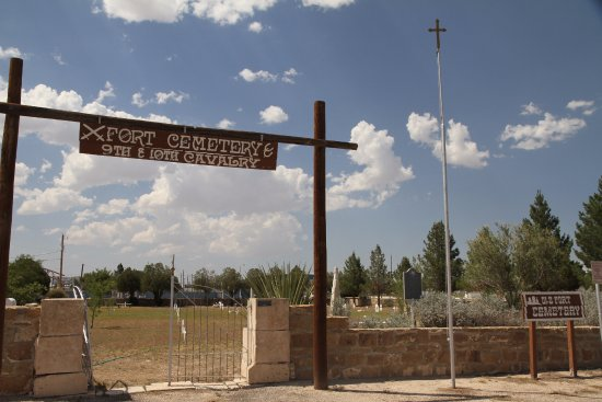 Fort Stockton, TX: Old Fort Cemetery