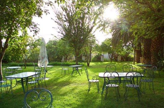 La terraza foto restaurante taray botanico orgiva for Restaurante jardin botanico
