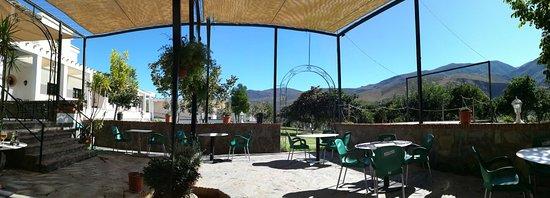 Orgiva, Spain: La terraza