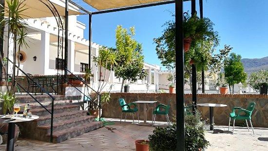 Orgiva, Spain: Terraza