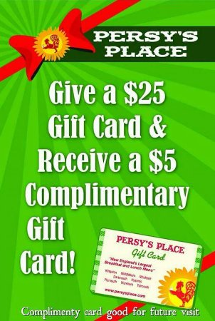 Kingston, MA: Gift Card Promotion thru Christmas