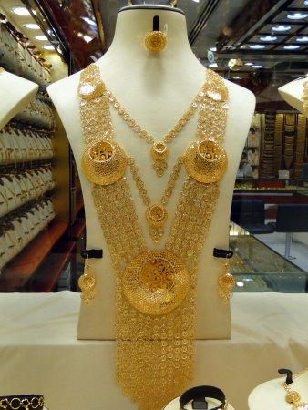 Förenade Arabemiraten: Mercado do Ouro - Sharjah - Vista das Lojas