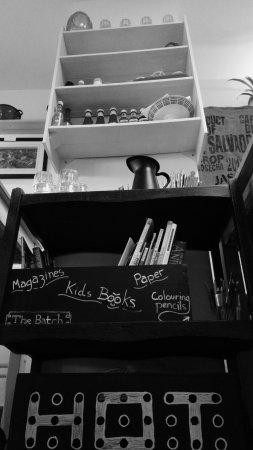 Bletchingdon, UK: Hot cafe