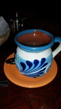 Marlborough, MA: coffee served in a pretty cup