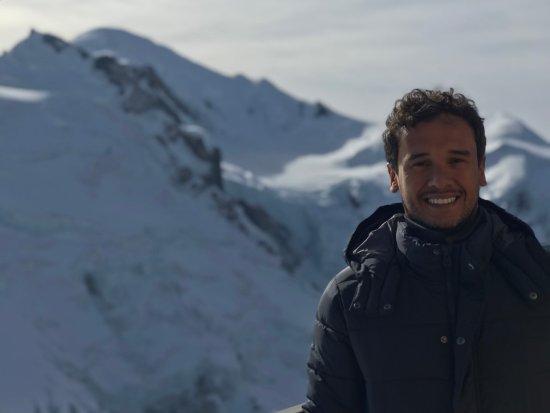 Aiguille du Midi: Mont Blanc ao fundo