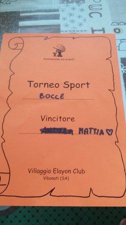 Vibonati, Italy: torneo di boccie