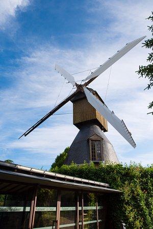 Avrille, França: Moulin toujours en fonctionnement