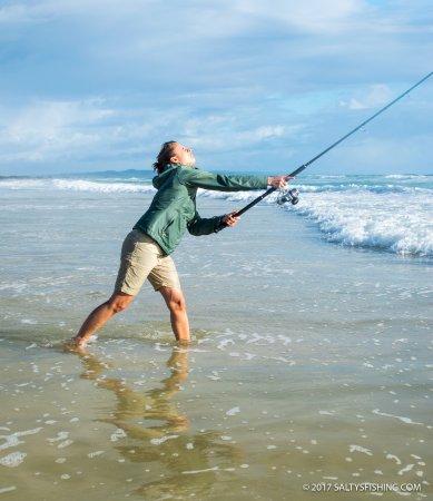 Rainbow Beach, Australia: INES-SUNRISE FISHING TOUR