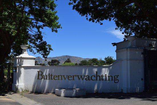Constantia, South Africa: Was für eine Auffahrt