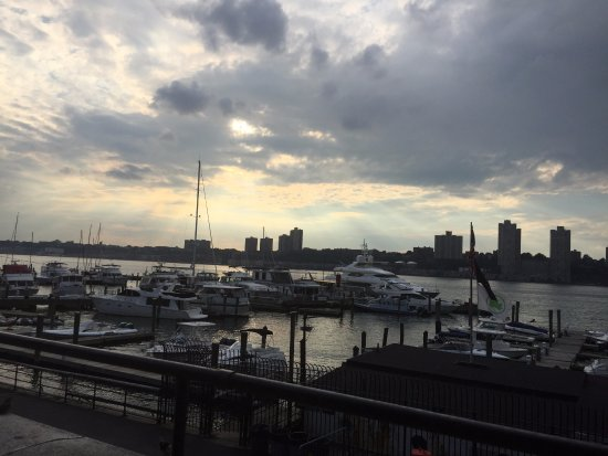 View of the terrace picture of boat basin cafe new york for 10 river terrace new york ny 10282
