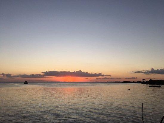 Pearl Lagoon, Nicaragua: Atardecer desde el muelle