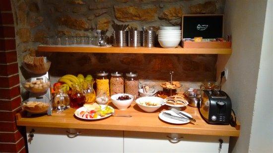 Jungmann: Part of the breakfast area
