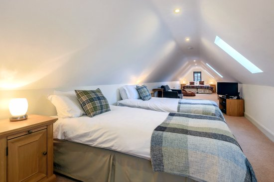 Ardgay, UK: First floor family room in cottage Eagle's Crag
