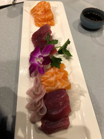 Sole Rosso: Sashimi misto