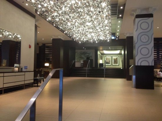 The Westin Portland Harborview: The lobby.