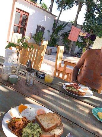 El Cuyo, México: Breakfast