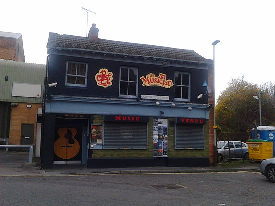 The Musician music venue/Nightclub, 42 Crafton Street West, Leicester, Leicestershire, England.