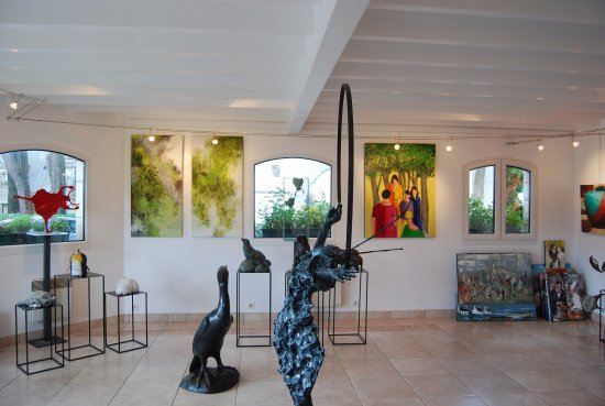 Domaine de Rochevilaine: Galerie d'art