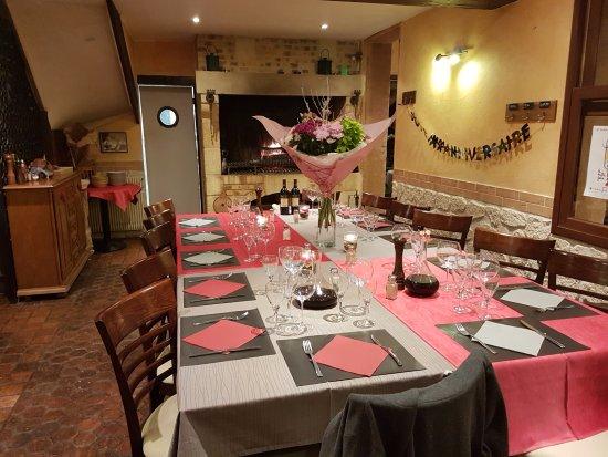 Quetteville, ฝรั่งเศส: Nous fêtons vos occasions spéciales ( sur réservation )