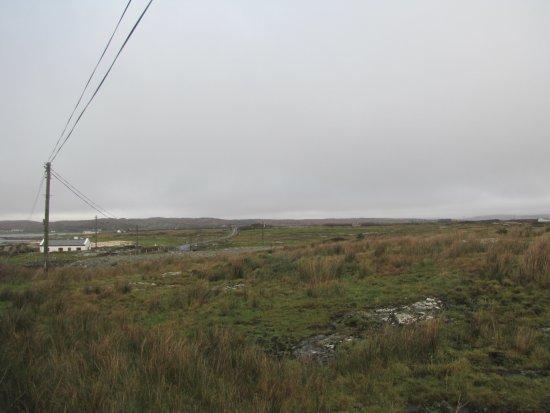 Kilkee, Irland: paisaje en el camino