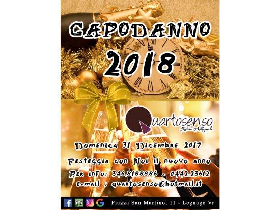 Legnago, Italy: Capodanno 2018