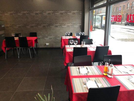 Cuesmes, Belgique : La partie resto