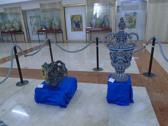 Siracusa, Italia: Museo ceramica Caltagirone